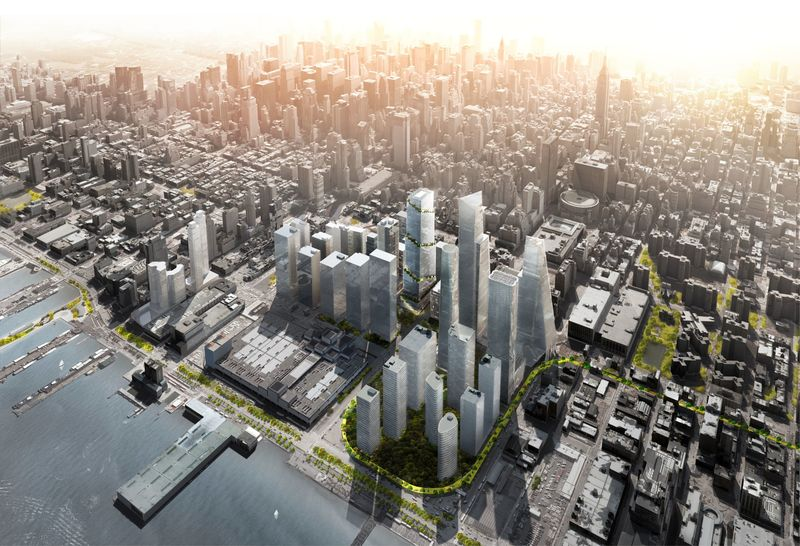 Pharma Giant Pfizer To Anchor The Spiral In Nyc Big Bjarke Ingels Group